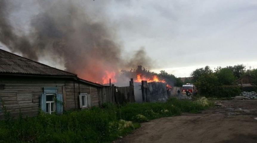 Пожар вОмске забрал жизни четырех человек