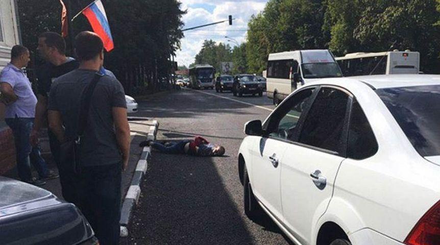 Размещено видео, где нападавшие напост ДПС под Москвой присягаютИГ