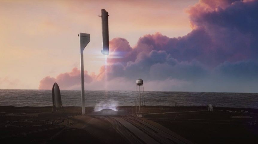 Путешествие наМарс: SpaceX обнародовала фото для будущих колонизаторов