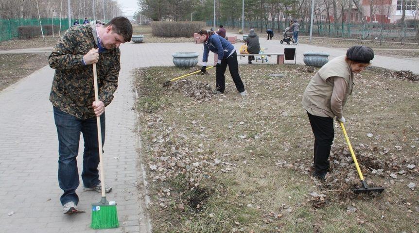Омичи примут участие вэкологическом субботнике «Зелёная Россия».