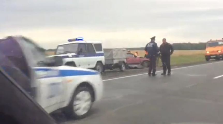В теперешней трагедии натрассе Омск— Новосибирск виноват погибший шофёр «десятки»