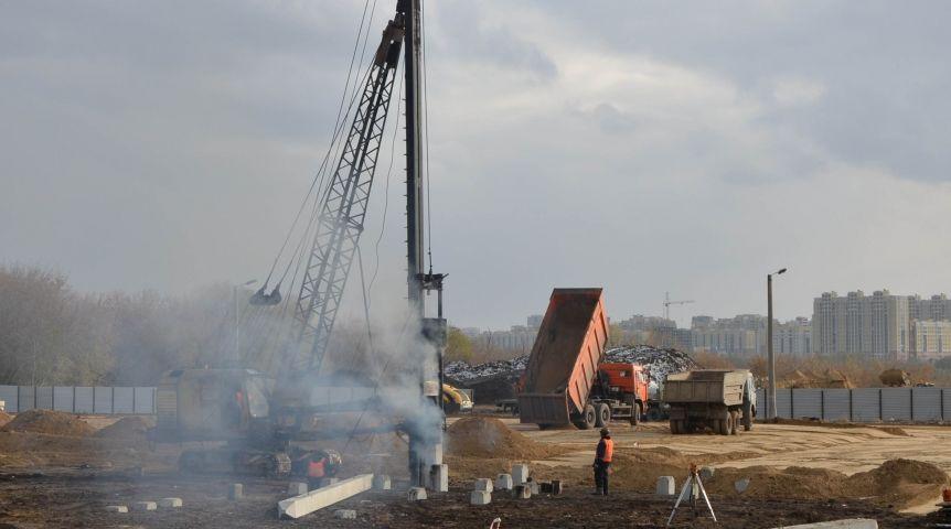 Строительство хоккейной академии «Авангарда» возобновили вОмске
