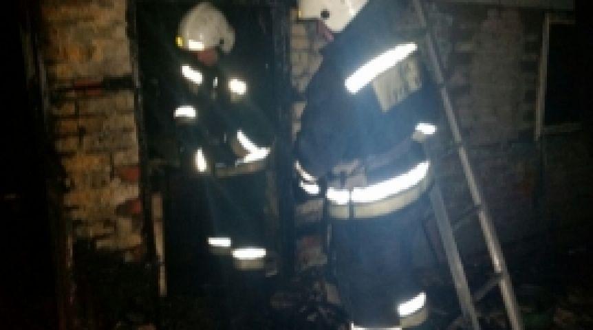 ВОмске напожаре в личном доме погибли два человека