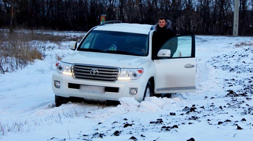 Нетрезвый омич на Тойота Land Cruiser устроил гонки сполицейскими