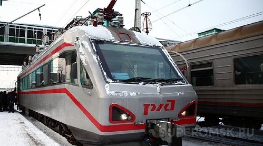 ВОмской области растут объёмы пассажирских железнодорожных перевозок