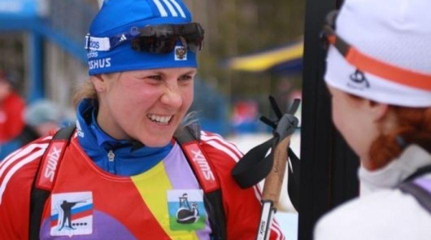 Названы имена дисквалифицированных задопинг русских биатлонисток