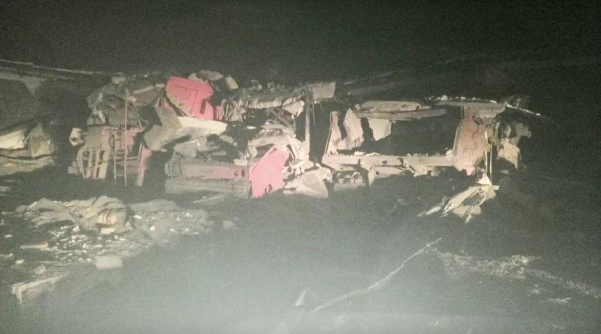 ВОмской области обвалился гаражный бокс сдевятью машинами внутри