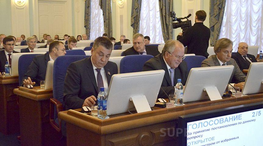 Ежемесячные выплаты нарасходы депутатов Заксобрания сократили до30 тыс.