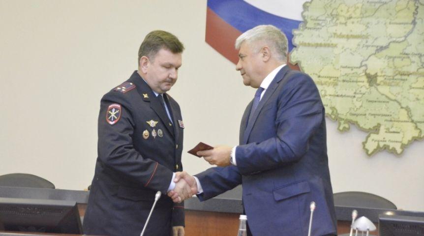 Министр внутренних дел Колокольцев представил нового начальника УМВД поОмской области— Коломийца