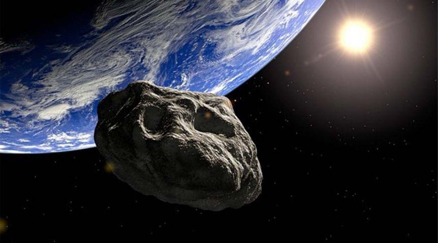 В небезопасной  близости отЗемли пролетел крупный астероид