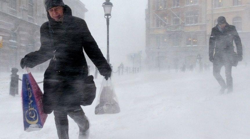 ВОмске объявлено штормовое предупреждение