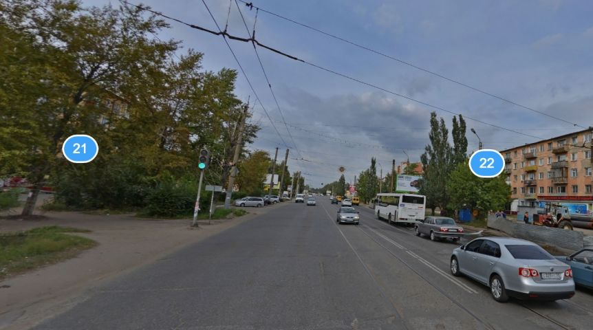 Маршрутка сбила женщину-пешехода вОмске