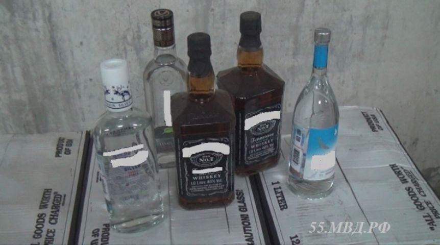 ВОмске изъяли поддельного алкоголя на10 млн руб.