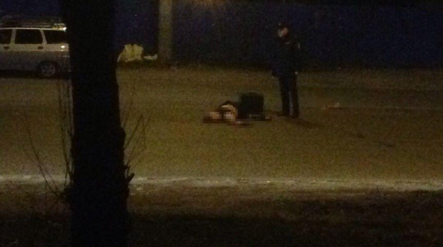 Поздно вечером наулице Лукашевича вОмске насмерть сбили мужчину