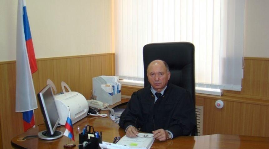 ВОмской области судят вахтовика заподрыв экс-судьи