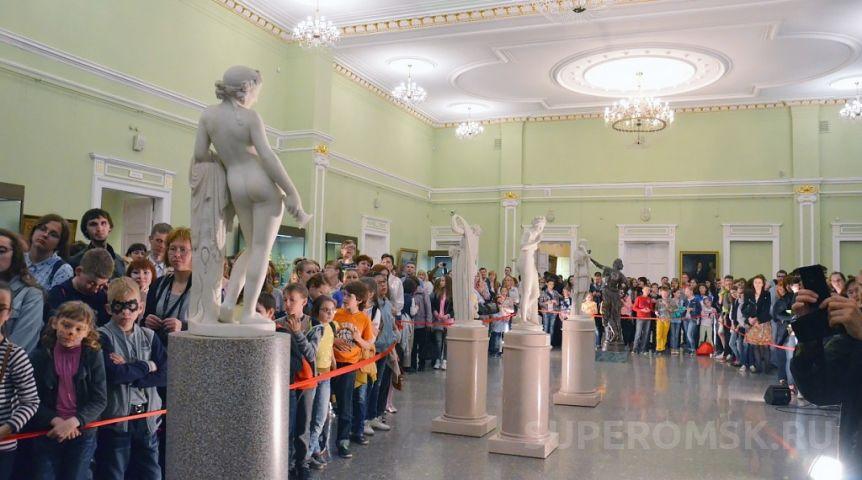 Омский музей имени Врубеля вошел втоп-10 самых посещаемых в РФ