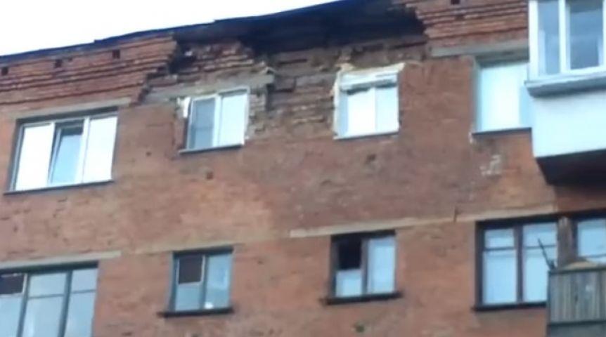 Губернатор Омской области выделит средства наремонт аварийной многоэтажки