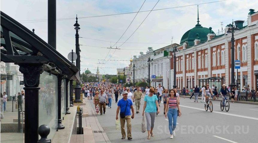 ВОмске еженедельно будут перекрывать Любинский проспект для гуляний