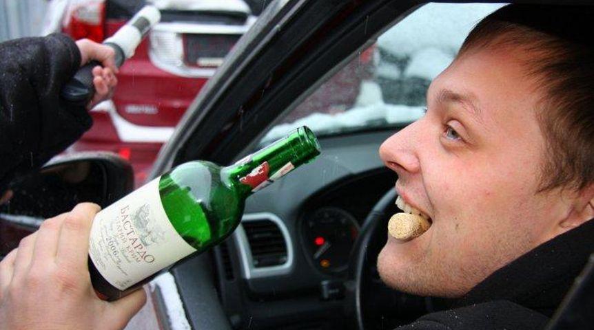 Третий раз попался пьяный за рулем