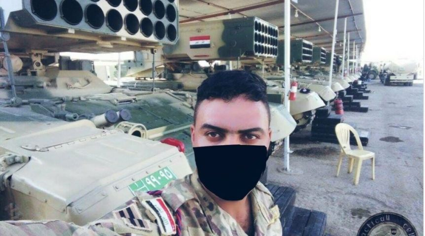 Армия Ирака демонстрирует омские «Солнцепеки» перед штурмом Тель-Афара