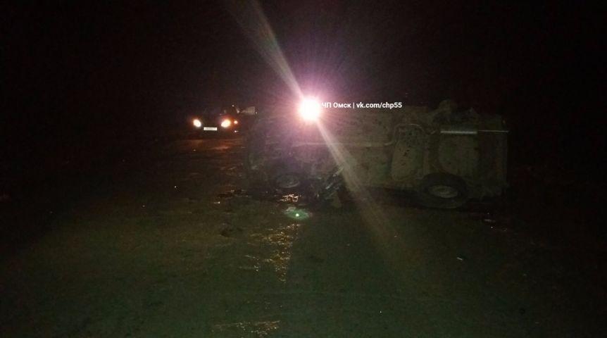 Натрассе Омск— Муромцево случилось ДТП, вкотором умер шофёр «девяносто девятой»