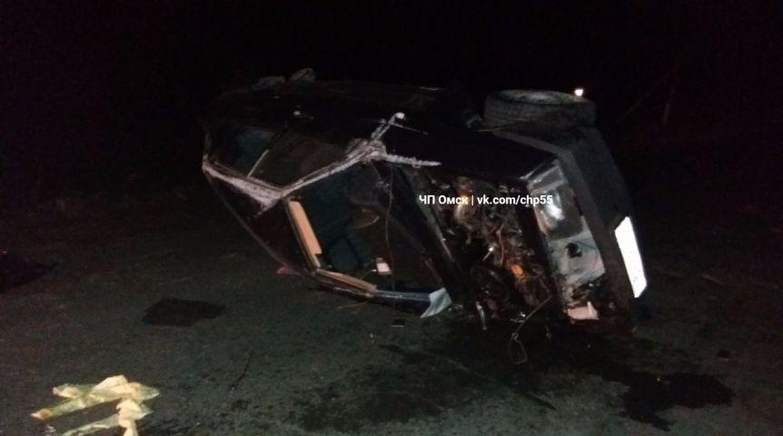 ВДТП натрассе Омск-Муромцево умер человек
