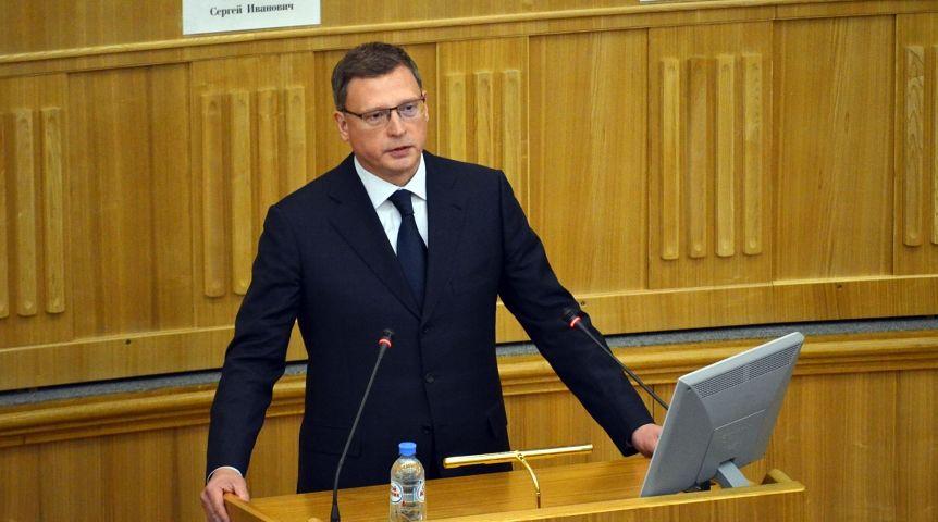Бурков зачитает бюджетное письмо 26декабря, едва сойдя страпа самолета