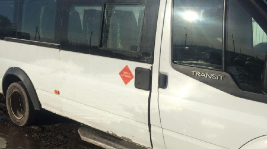 Нетрезвый гражданин Омска угнал савтомойки маршрутку