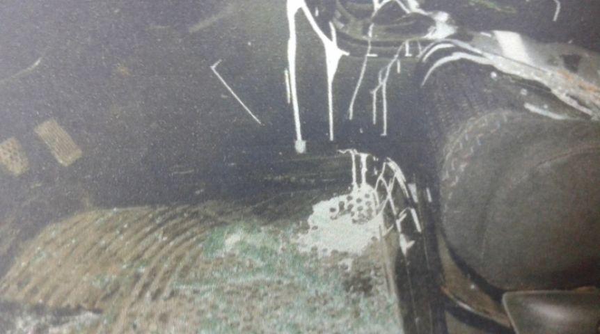 Омичу разбили иномарку изалили еекраской из-за долга в11 тыс.