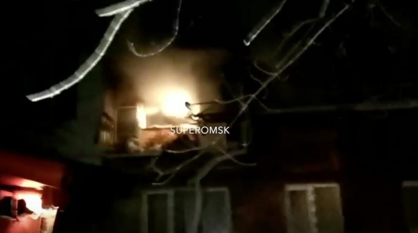 Пофакту пожара вжилом доме вОмске возбуждено уголовное дело