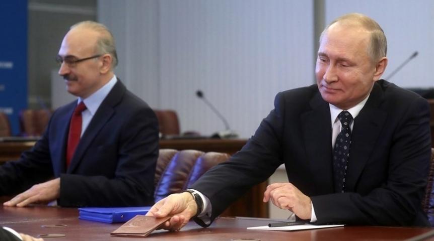 ВОмске появится штаб поддержки кандидата впрезидентыРФ В.Путина