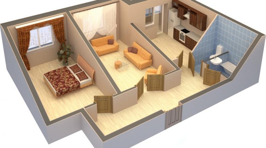 Перепланировка квартиры и дома