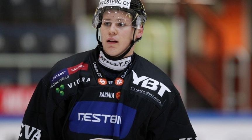 В «Авангарде» будет играть защитник сборной Финляндии