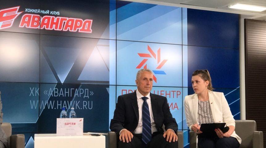 Болельщики вОмске готовят встречу новому основному тренеру «Авангарда»