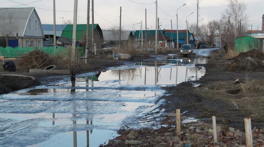 Частный сектор в Омске: проблема? — СуперОмск