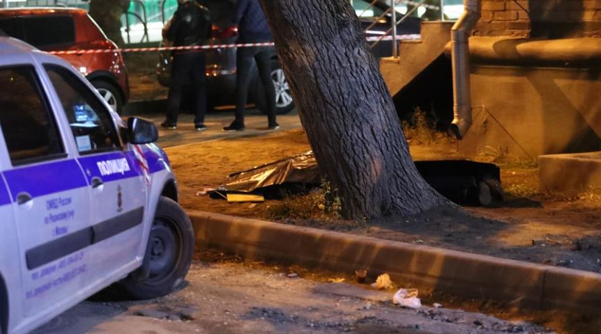Расстрел полицейских в столицеРФ попал навидео