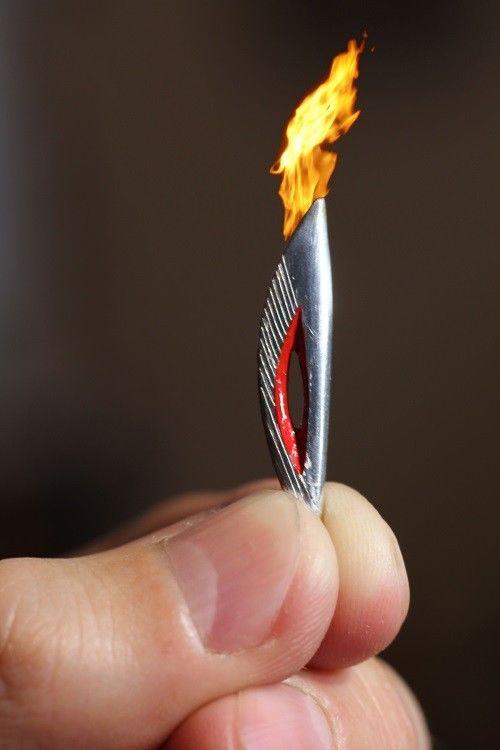 Как сделать красивый факел своими руками