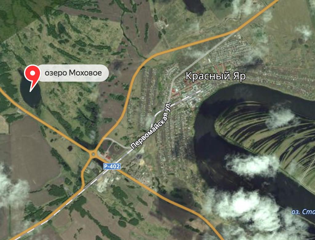 Озеро Моховое