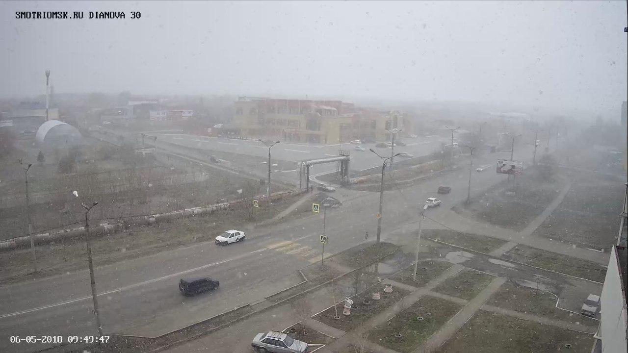 снег в омске сегодня фото весь мир