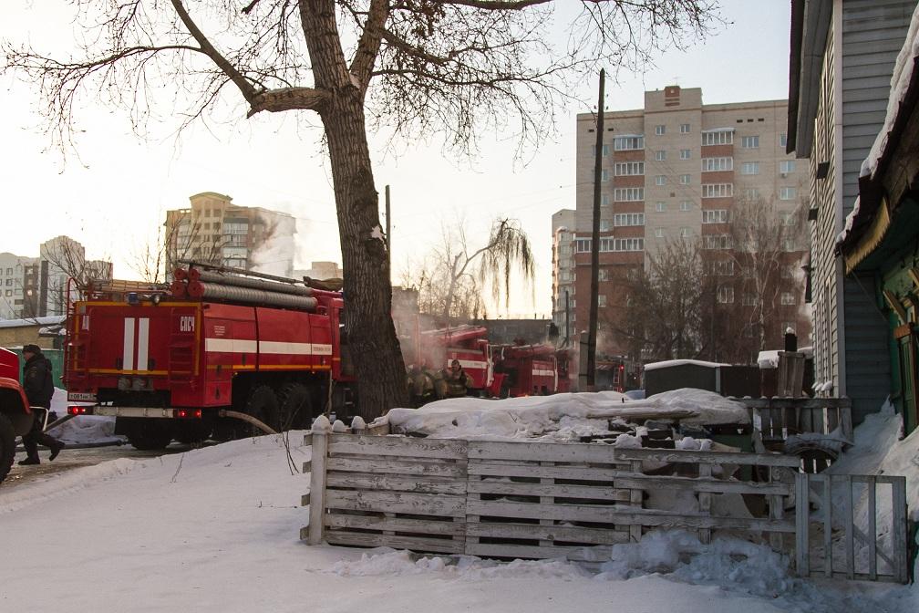 Женщина погибла впожаре вУльяновской области